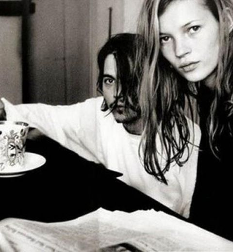 Les plus belles photos du couple Johnny Depp- Kate Moss