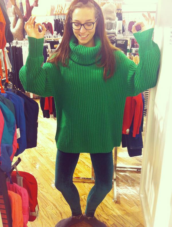 Le pull Kermitt en laine - 130€