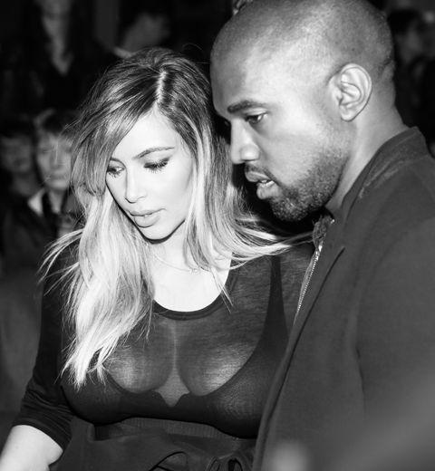 Kim Kardashian et Kanye West sont fiancés