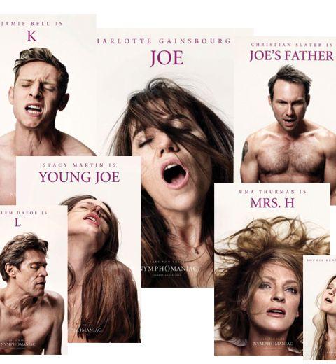 Les affiches orgasmiques du dernier Lars von Trier