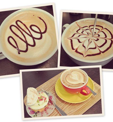 Devenir une pro du latte arte