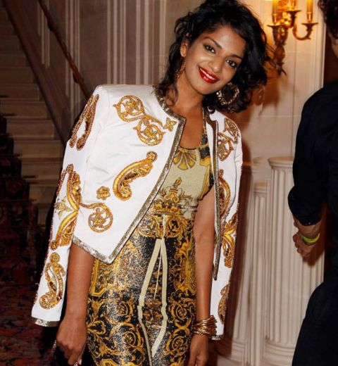 A quoi ressemblera la collection de M.I.A x Versace?