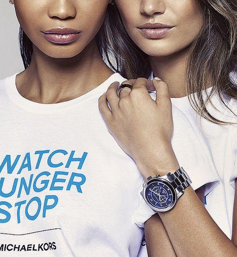 Michael Kors contre la faim #watchhungerstop