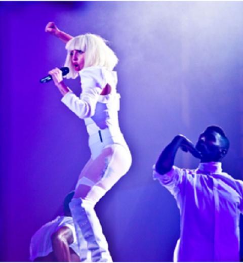 Lady Gaga gaga de Louise Leconte
