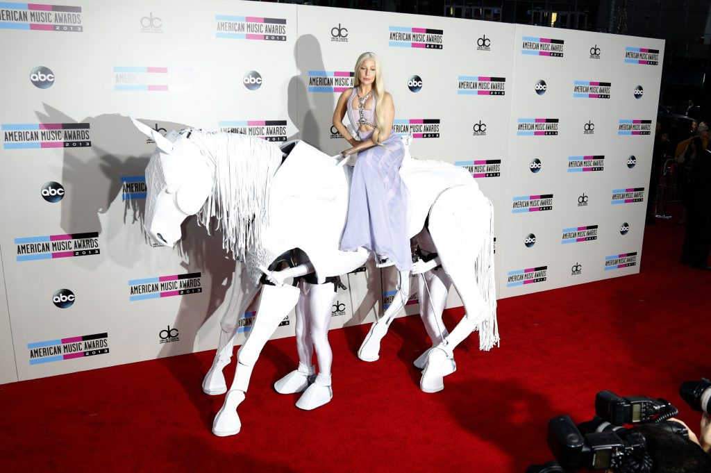 2013 american music awards - ankunft