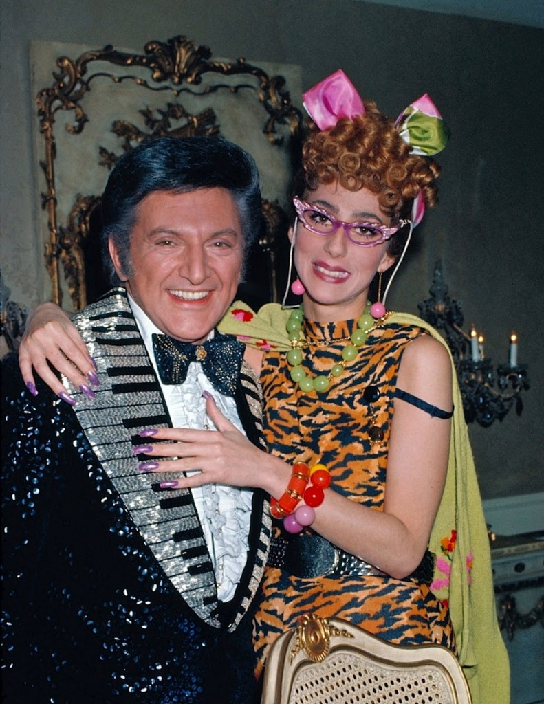 LIBERACE AND CHER LAVERNE