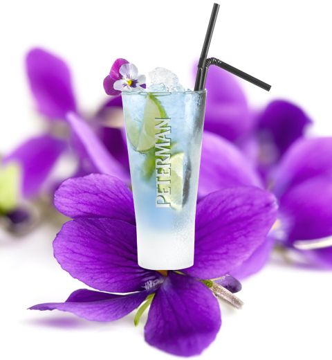 Un cocktail au goût de violette
