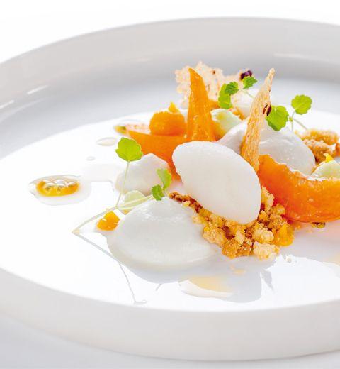 La recette d'abricots confis du chef Laury Zioui