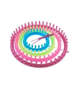 Quatre tricotins circulaires chez Hema pour 16,50€