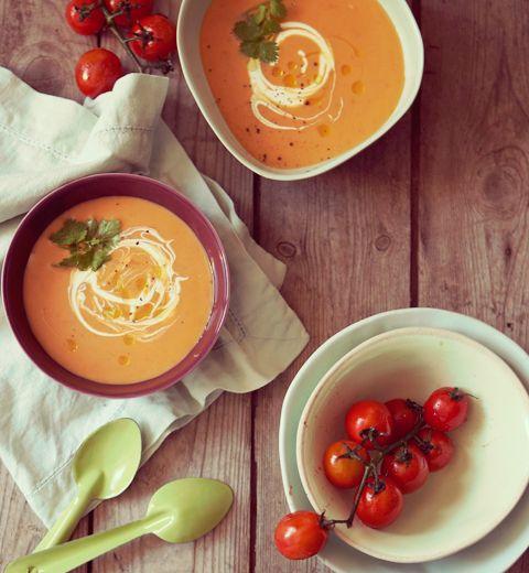 3 soupes d'automne en moins de 30 minutes