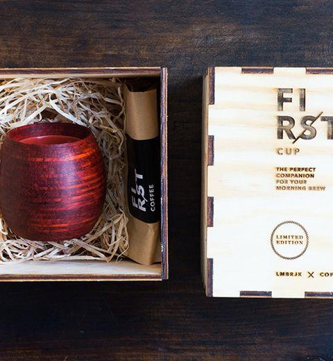 First Cup: la tasse à café design