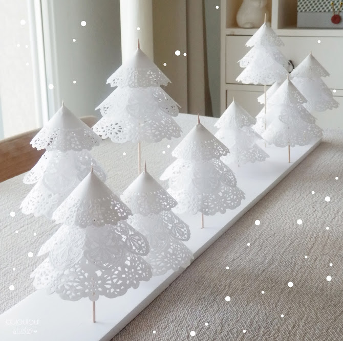 10 d corations de table faire soi m me - Deco table de noel a faire ...