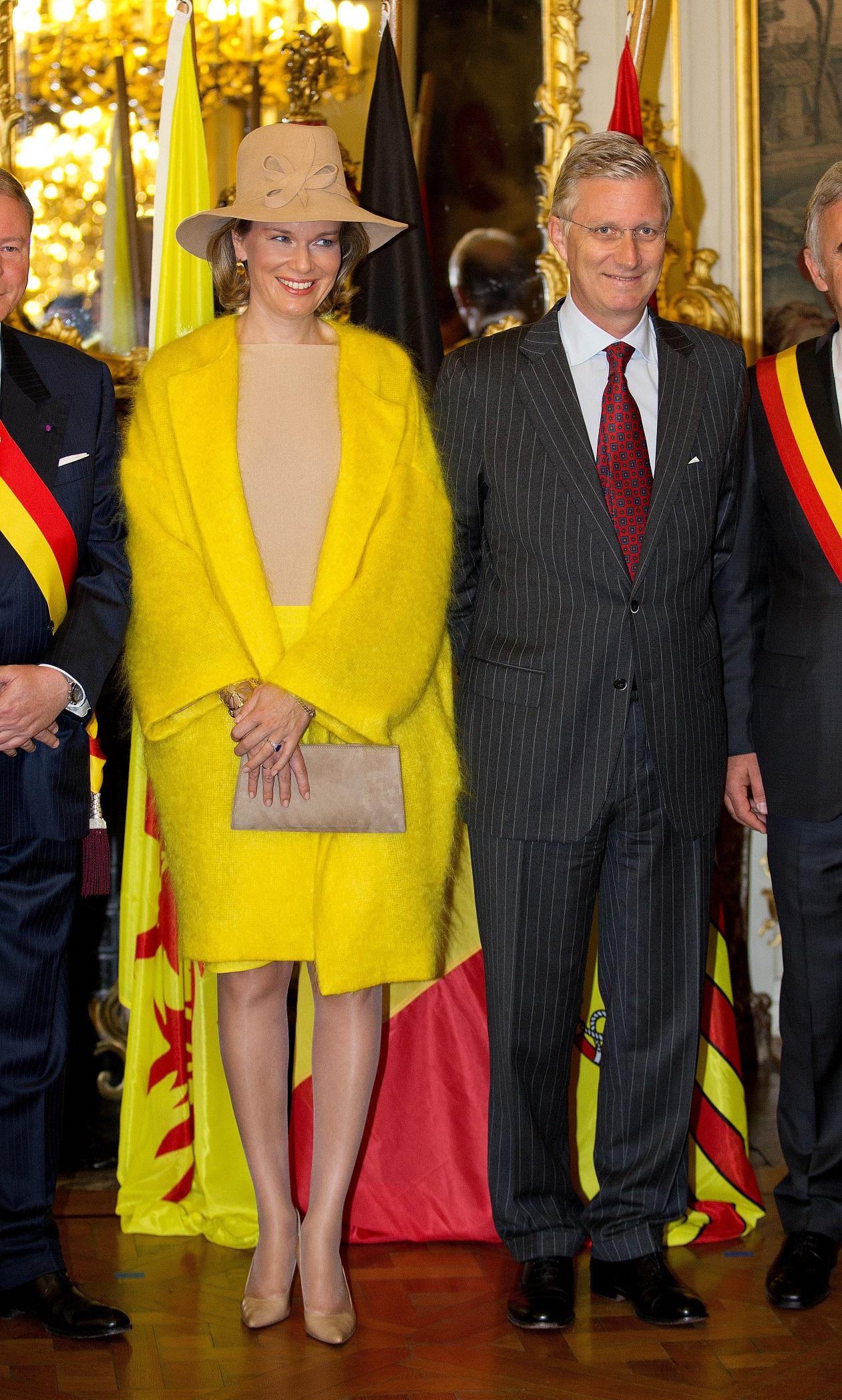 belgische royals zu besuch in liege