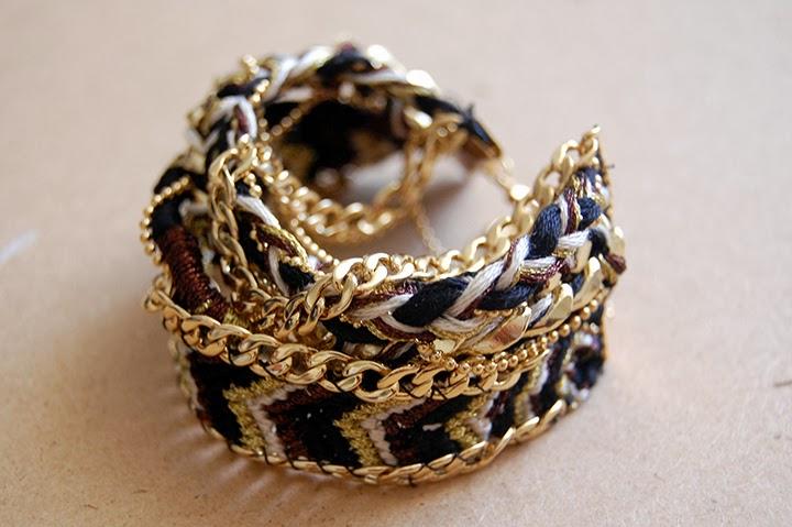 Bracelet brésilien réalisé sur le blog bonjour darling