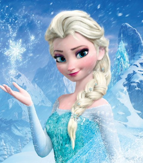 Le make-up d'Elsa la reine des neiges