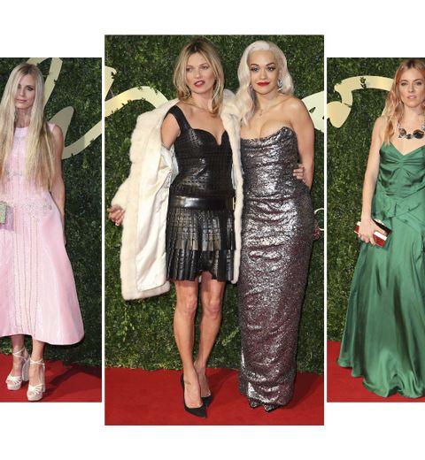 Les looks des British Fashion Awards