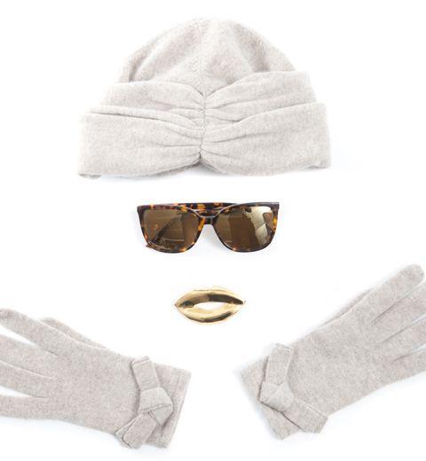 Le total look froid de Paule Ka