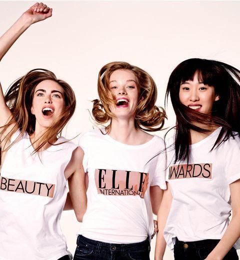 Les produits gagnants des ELLE Beauty Awards 2014