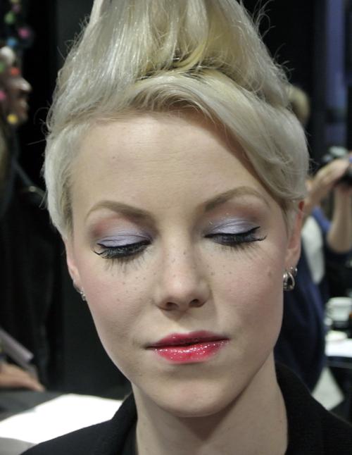 Le make-up d'Elsa la reine des neiges - 9