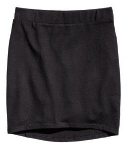 Jupe en jersey H&M, 4,95€