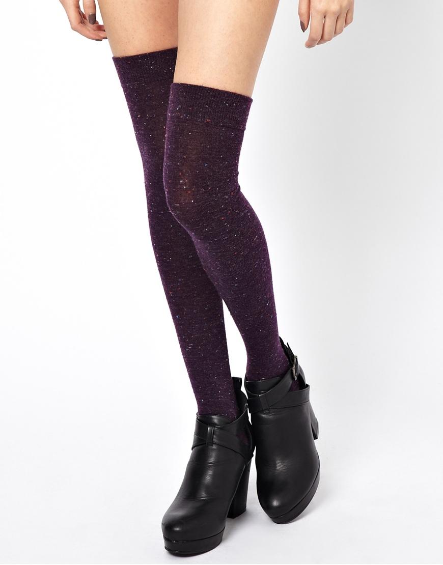 Boots et chaussettes Asos, 10,96€