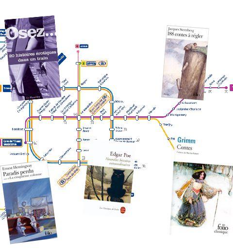 5 livres à lire dans le métro