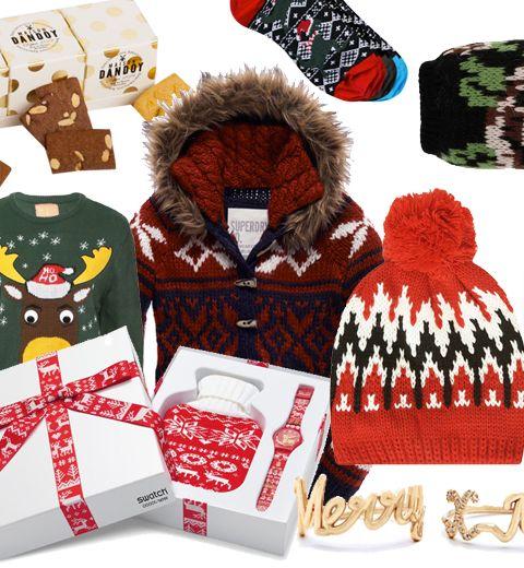 10 cadeaux de Noël, bien dans le thème