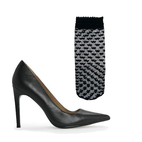 Chaussures Mango en cuir (59,99€) et chaussettes Asos (5,48€)