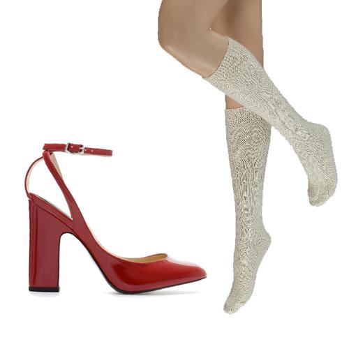 Chaussures Zara, 49,95€ et bas Veritas 12,95€