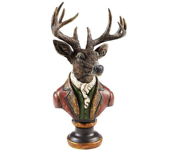statuette-cerf