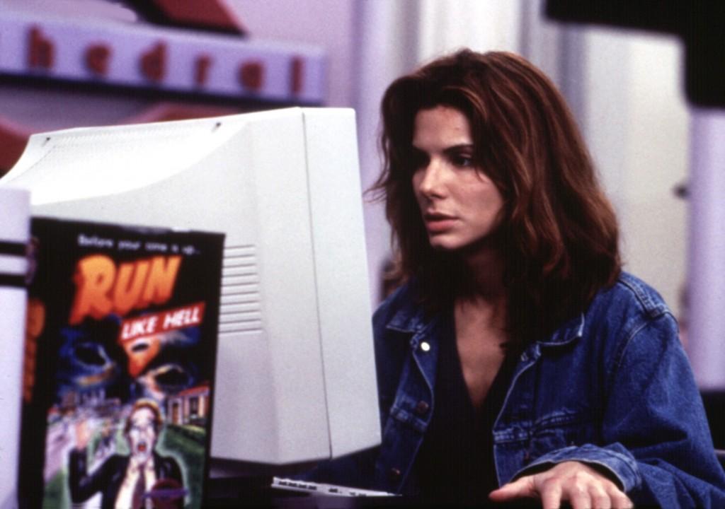Sandra Bullock dans le film The Net