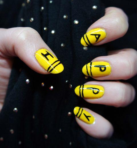 Les HAPPY nails inspirés par Pharrell Williams