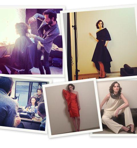 Les backstages du shooting de Natan Couture