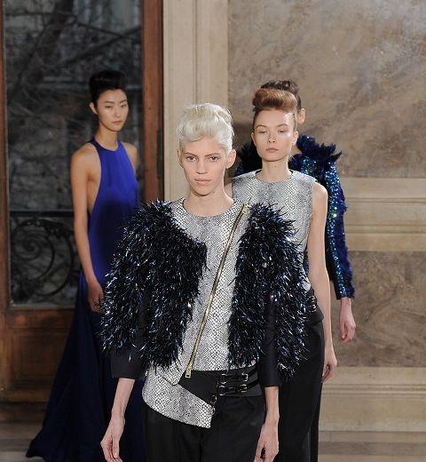 Haute Couture : la ligne droite de Bouchra Jarrar