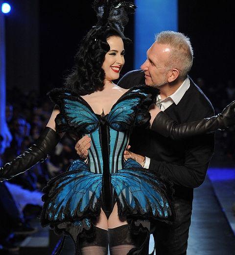 Dita Von Teese pour Gaultier Couture, le défilé le plus jubilatoire