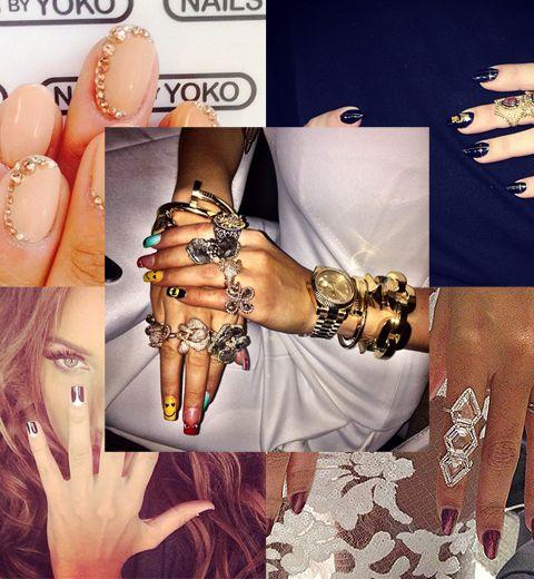 Grammy Awards 2014: les 5 plus beaux nails art