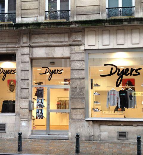 Dyers: le nouveau concept store street wear à Bruxelles
