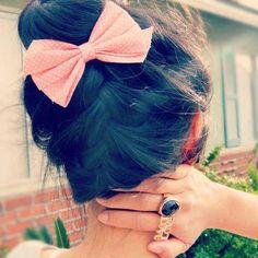 15 façons de porter le noeud dans les cheveux - 4