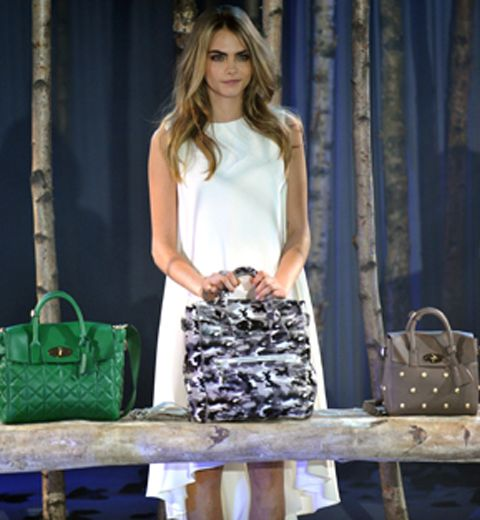 Le « Cara Delevingne » nouveau it-bag Mulberry