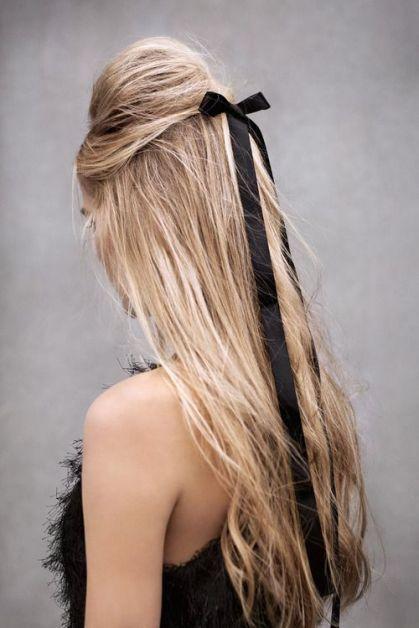 15 façons de porter le noeud dans les cheveux - 1
