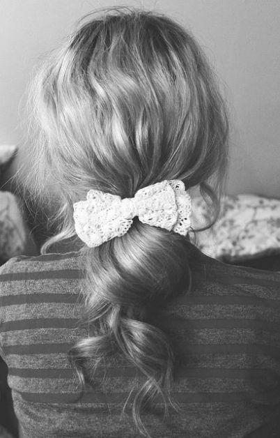 15 façons de porter le noeud dans les cheveux - 2