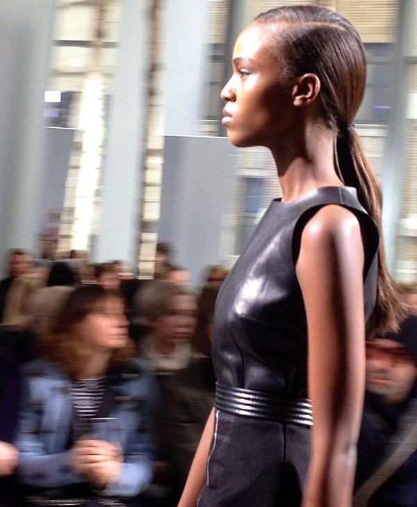 Leila Ndabirabe, mannequin belge montante
