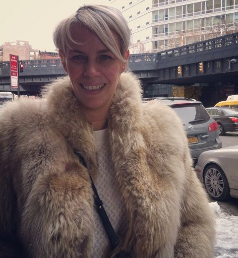 Les Belges à NY : Carine Caillieret, directrice d'agence de mannequins