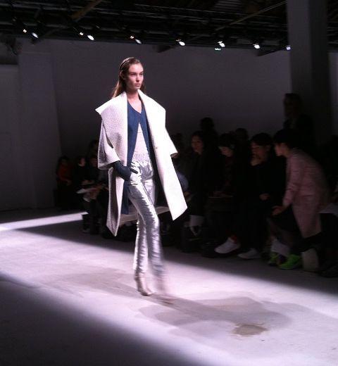 Paris Fashion Week : Christian Wijnants, douceur et sophistication
