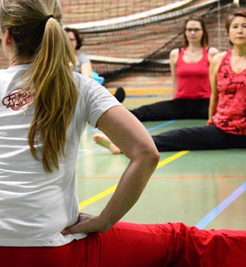 Mon cours de gym à la suédoise