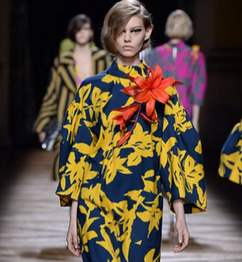 Paris Fashion Week : Dries van Noten, jubilatoire