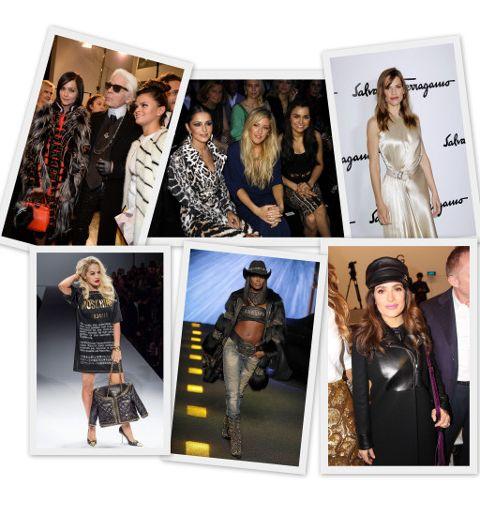 Fashion Week de Milan: qui était frontrow ?