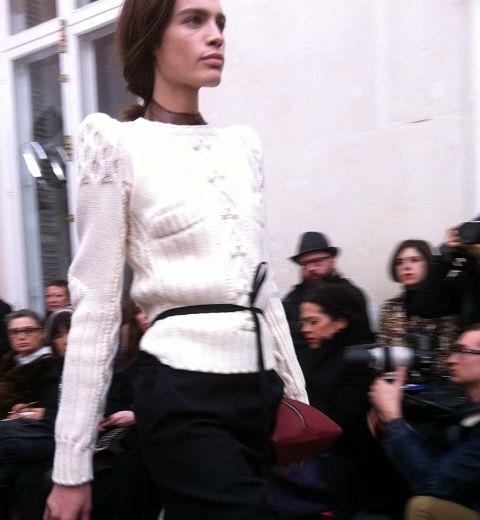 Paris Fashion Week : Maison Martin Margiela, la vie en déshabillé, et la visite de Kanye West