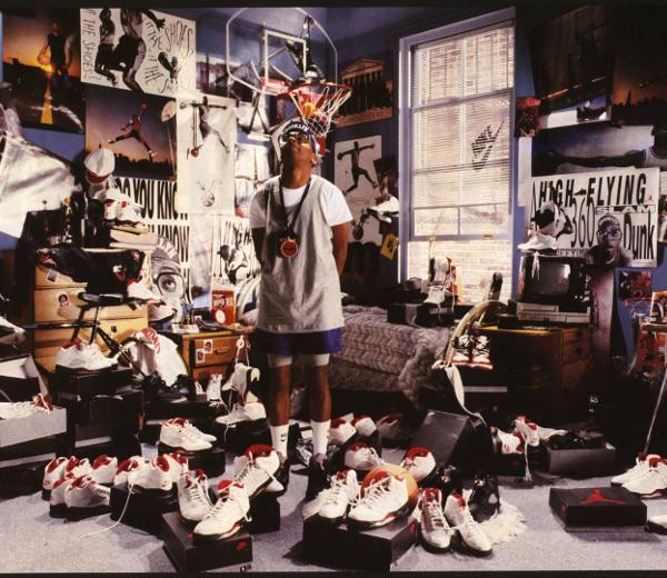 Mars Blackmon, pub pour Nike Air Jordan