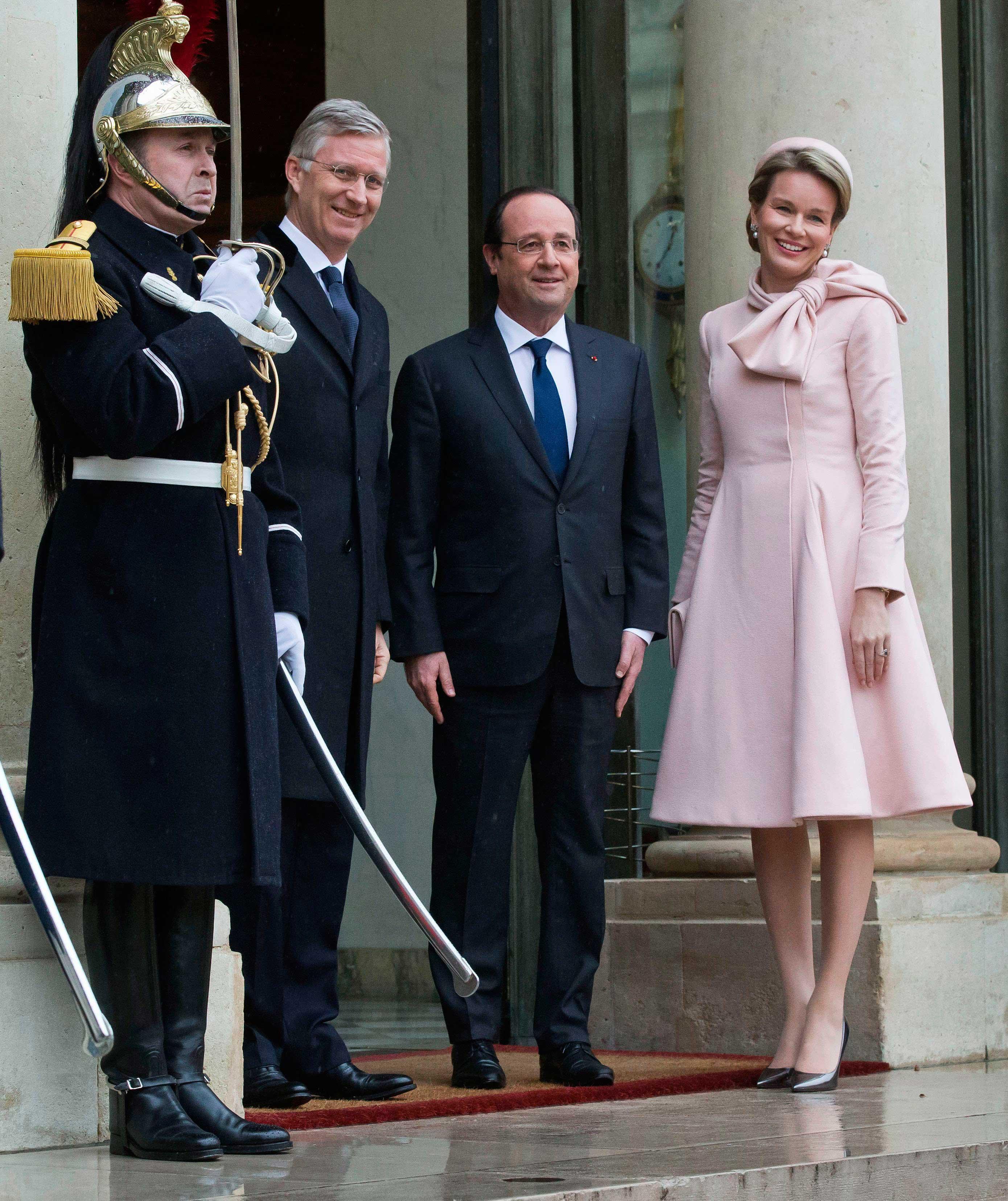 Mathilde et Francois Hollande